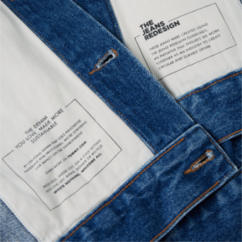 Leading fashion brand launches circular denim collection at large scale